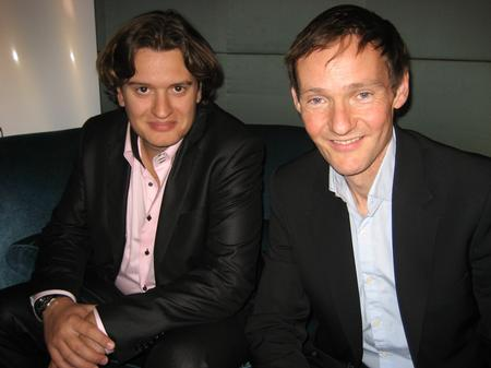 Mathieu Herzog and Mark Forrest