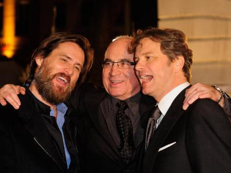 Jim Carrey, Bob Hoskins and Colin Firth