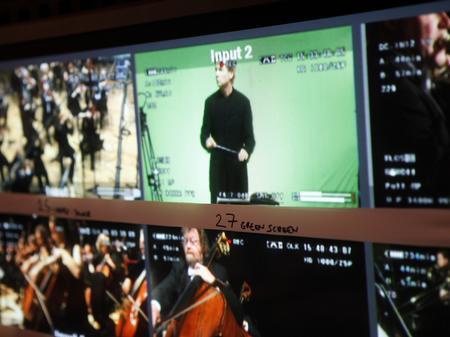 Re-Rite, screen, philharmonia, camera