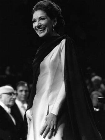 Maria Callas farewell Royal Festival Hall