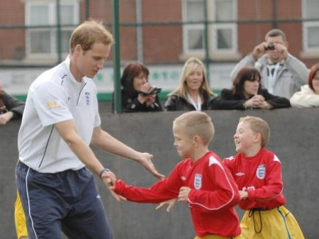Prince William's love of football