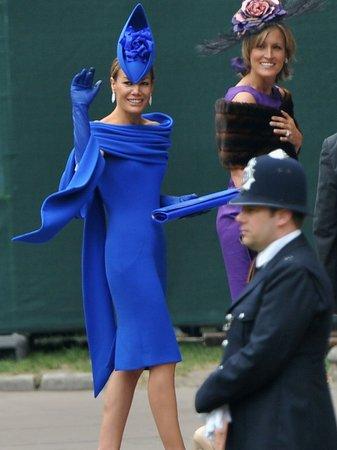 Royal Wedding Day Tara Palmer-Tomkinson