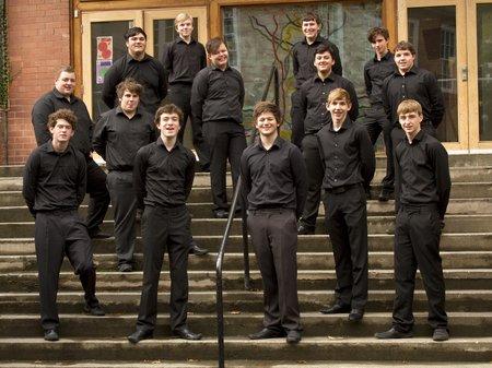 Ysgol Dinas Bran Male Ensemble
