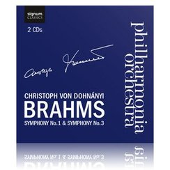 hilharmonia Orchestra Christoph von Dohnányi Brah