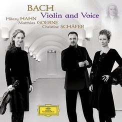 Bach Arias and Duets with Violin