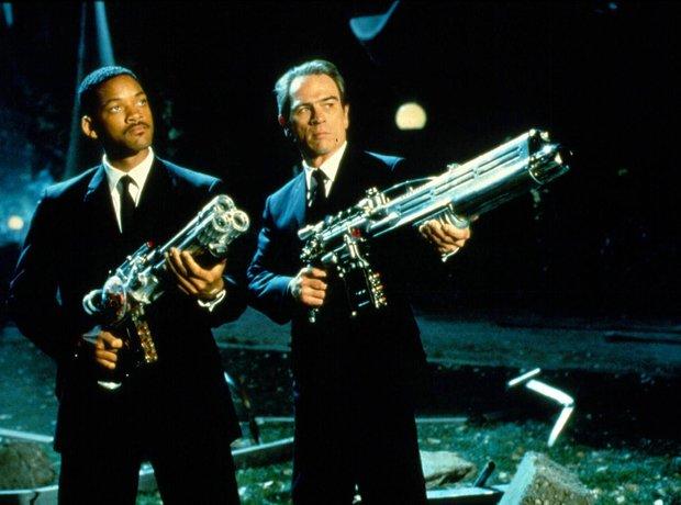 Men in Black Will Smith Tommy Lee Jones Danny Elfman