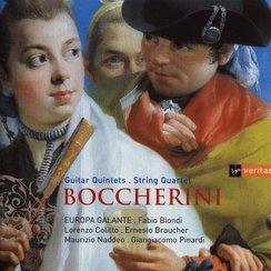 Boccherini Guitar Quintets String Quartet Europa G
