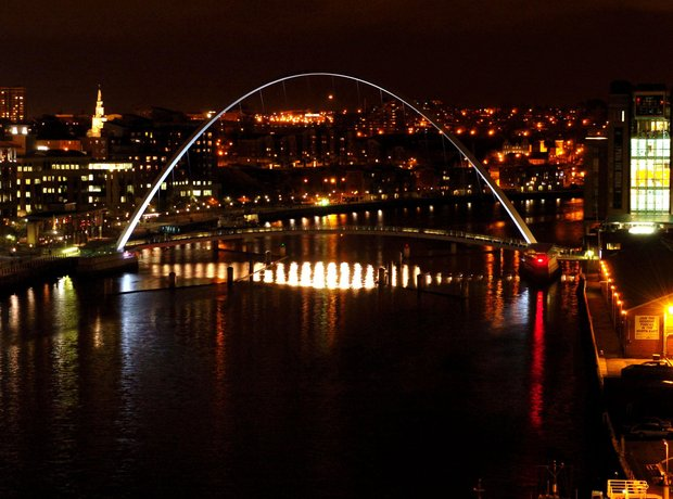 Milleniuem Bridge Newcastle
