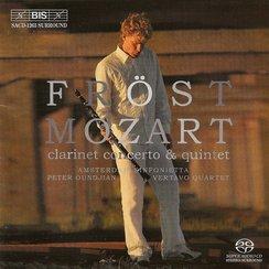 Mozart Clarinet Concerto Clarinet Quintet Martin F