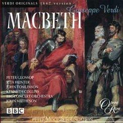 Verdi Macbeth Glossop, Hunter, BBC Concert Orch/Ma