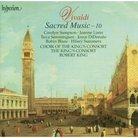 Vivaldi Sacred Music Vol. 10 The King's Consort Ro