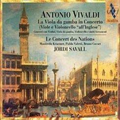 Vivaldi Viola da Gamba Concertos Concert des Natio
