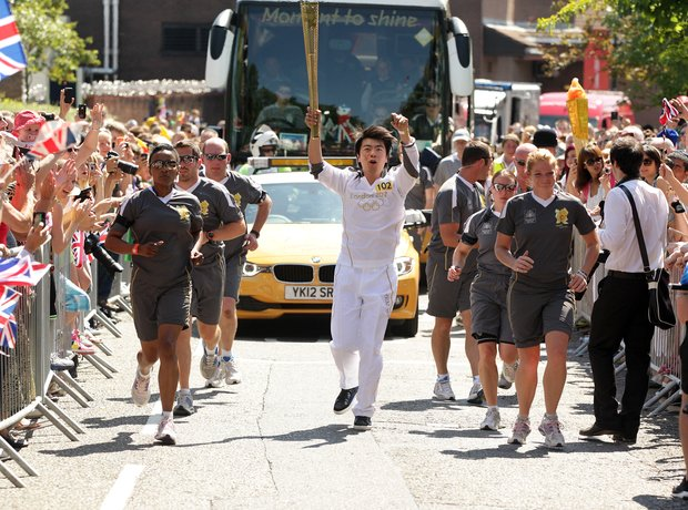 Lang Lang Olympic Torch