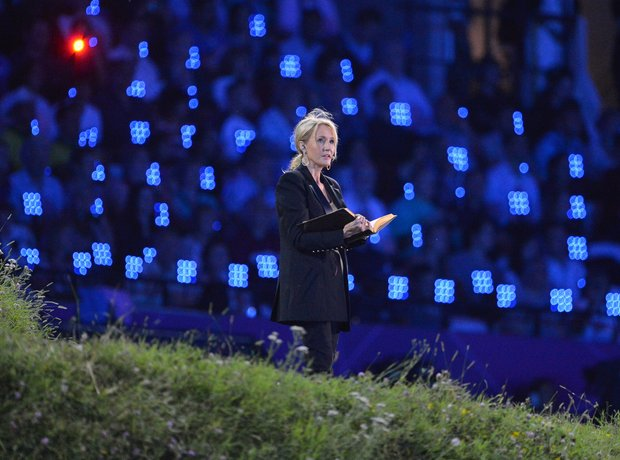 JK Rowling Opening Ceremony