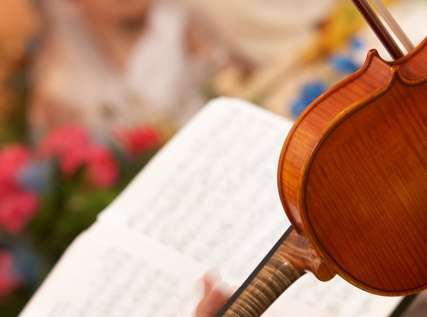 violin wedding