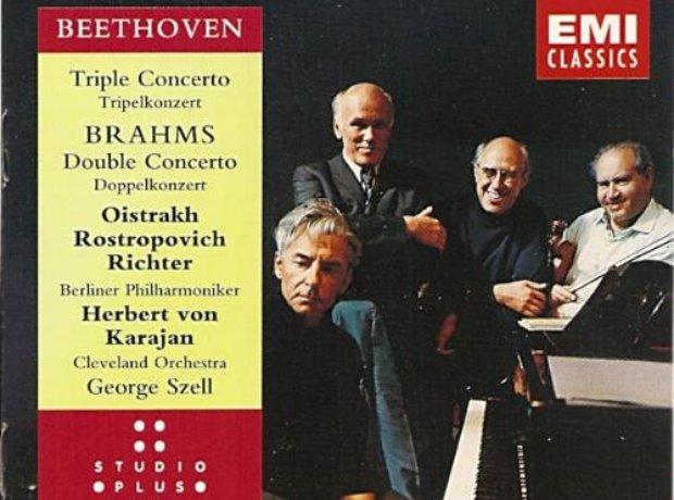 Oistrakh / Rostropovich / Richter / Karajan