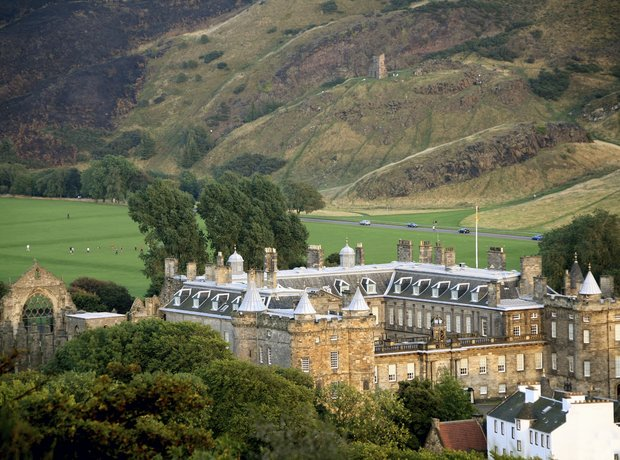Arthur's Seat and Holyrood, Edinburgh