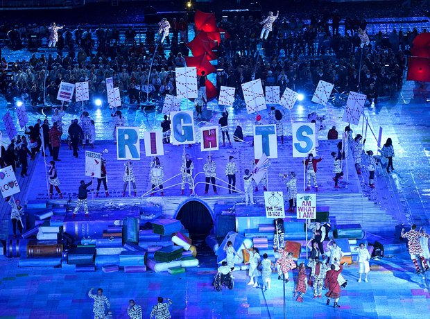 Paralympic opening ceremony rights
