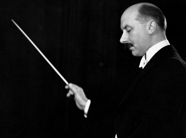 Adrian Boult conducts