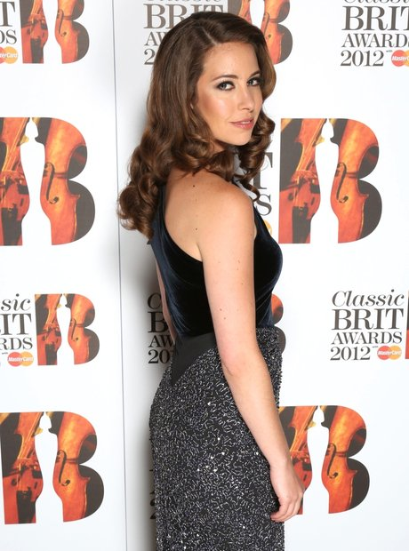 Amy Dickson arrives at the Classic BRITS Launch