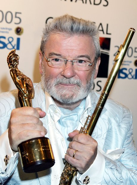 James Galway classic brits 2005