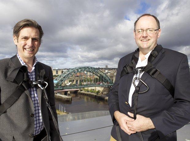 Jamie Crick and Tim Lihoreau