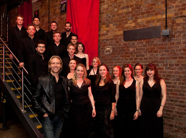 Eric Whitacre singers at yellow lounge london