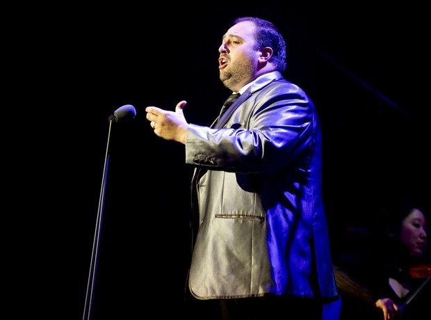 Wynne Evans at Classic FM Live 2012