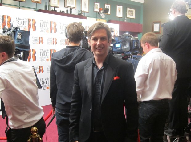 Classic BRIT Awards 2012 backstage