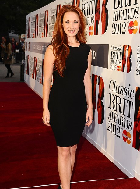 Classic BRIT Awards 2012 with Sierra Boggess