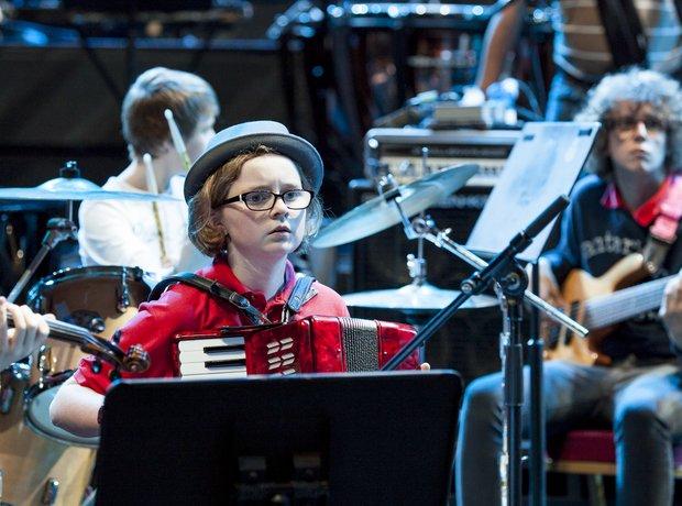 The Dream Orchestra schools prom rehearsal 2