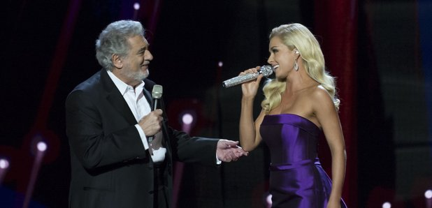 Katherine Jenkins and Placid Domingo The Royal Var