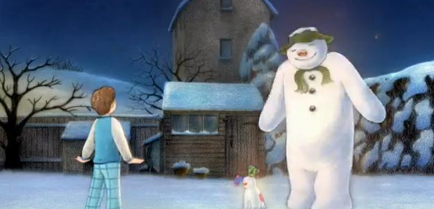 snowman and snowdog trailer