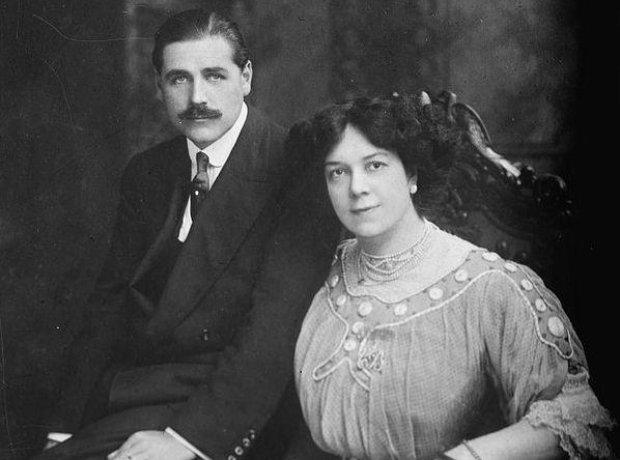 clara butt and her husband