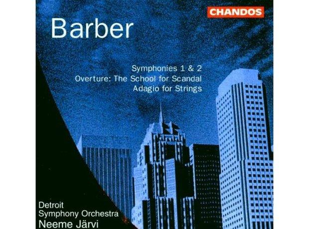 Barber Adagio for Strings album cover