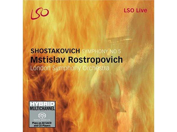186 Shostakovich, Symphony No. 5, by the London Sy