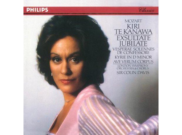 283 Mozart, Exsultate Jubilate, by Kiri Te Kanawa,