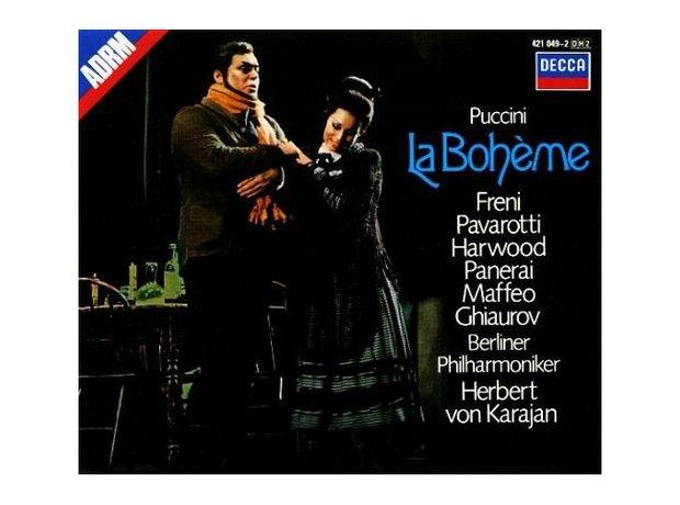 Puccini's La Boheme album cover