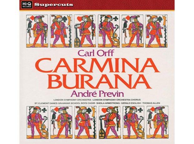 Orff Carmina Burana (includes O Fortuna) album cover