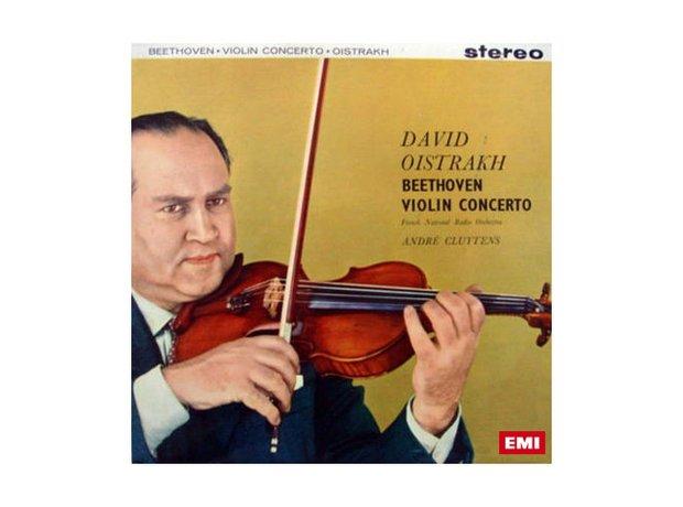 Beethoven Violin Concerto in D major Opus 61 album cover