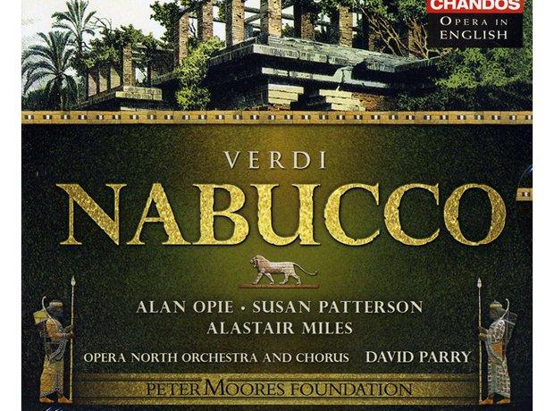 Verdi Nabucco (includes Chorus of the Hebrew Slave) album cover