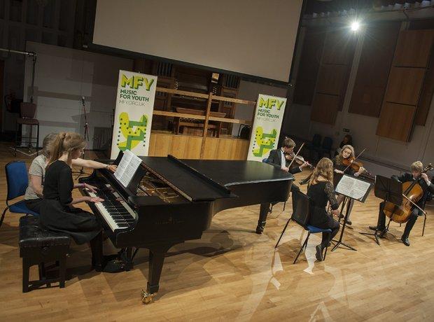 Churchill Academy Piano Quintet