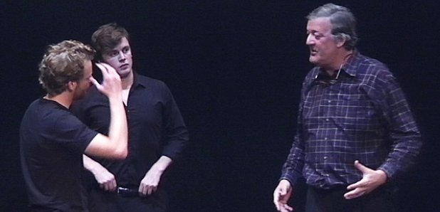 Stephen Fry at Royal College of Music