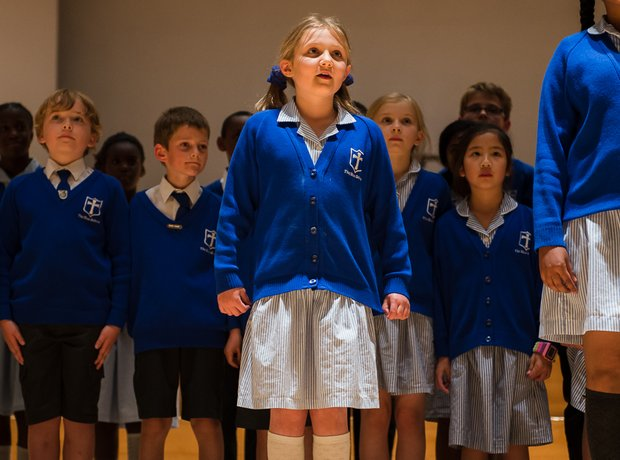 The Blue School Choir