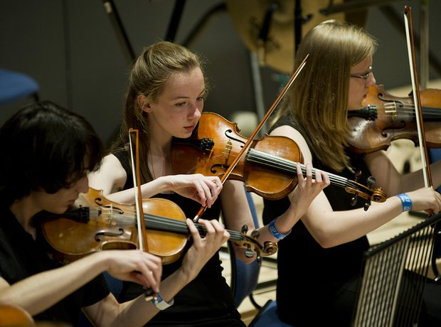 Milton Keynes Music Service String Orchestra