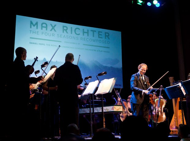 Daniel Hope plays Max Richter's re-composition of