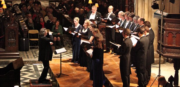 The sixteen choral pilgrimage