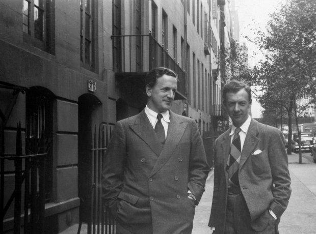 Benjamin Britten Peter Pears America