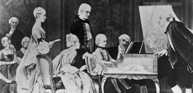 young mozart in concert