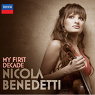 nicola benedetti my first decade album cover